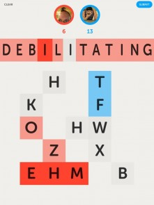 Letterpress: Debilitating